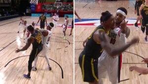NBA – La séquence très tendue entre Melo et Dwight Howard