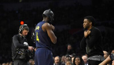 NBA – LeBron et d'autres joueurs réagissent au décès de Chadwick Boseman