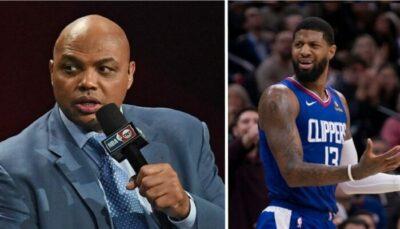 NBA – Barkley pète un câble au sujet de Paul George… et réplique !