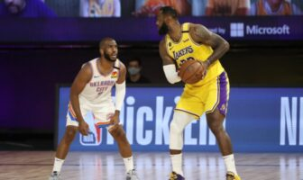 Chris Paul contre LeBron James