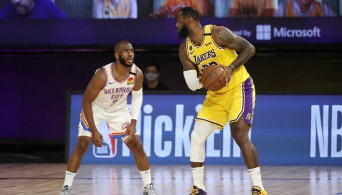 Chris Paul contre LeBron James