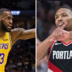 NBA – Lillard égale LeBron et se rapproche de Kobe avec une énorme stat
