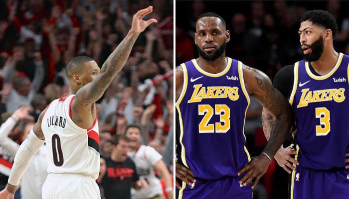 La stat humiliante de Damian Lillard contre des Lakers dépassés NBA