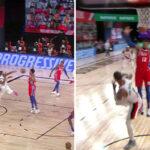 NBA – Damian Lillard marque un des paniers les plus WTF de l'histoire !