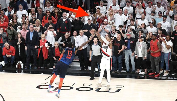 NBA - Le génial détail que personne n'a vu sur l'énorme tir de Lillard sur Paul George
