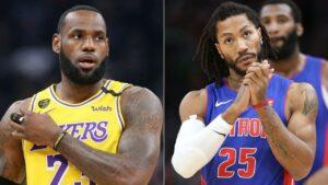 NBA – Un troll de Derrick Rose immédiatement puni par LeBron refait surface