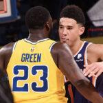 NBA – Devin Booker réagit à Draymond Green qui l'implore de quitter les Suns