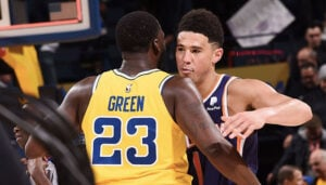 NBA – Devin Booker réagit à Draymond Green qui l'implore de quitter les Suns