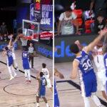 NBA – Toujours aussi bouillant, Devin Booker plante un poster sur 2 joueurs !