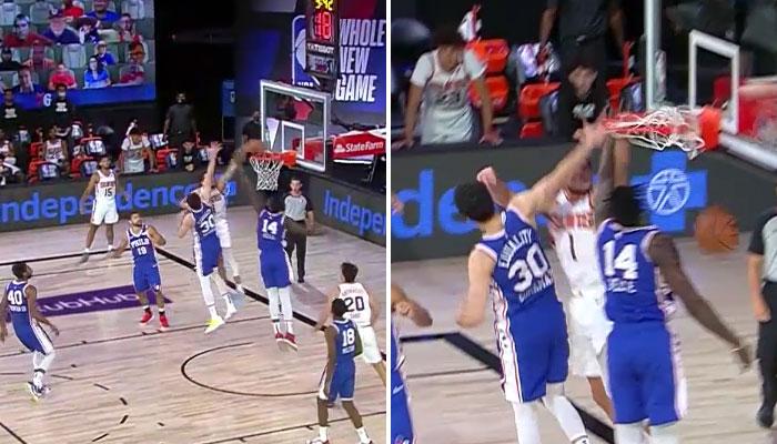 Le nouveau poster de Devin Booker contre les Sixers NBA