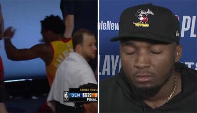NBA – L'immense frustration de Donovan Mitchell après la défaite