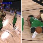 NBA – Le geste polémique (et dangereux) de Marcus Smart sur Giannis