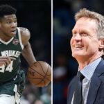 NBA – La réponse parfaite de Steve Kerr à une question sur Giannis