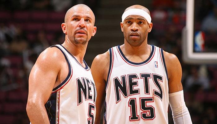 Jason Kidd et Vince Carter ont pris feu avec les New Jersey Nets