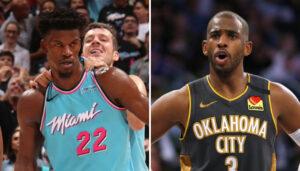 NBA – Jimmy Butler menace Chris Paul en direct devant les caméras !