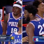 NBA – Tensions sur le banc des Sixers en plein match