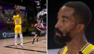 NBA – Le gros raté de JR Smith dans le Game 5