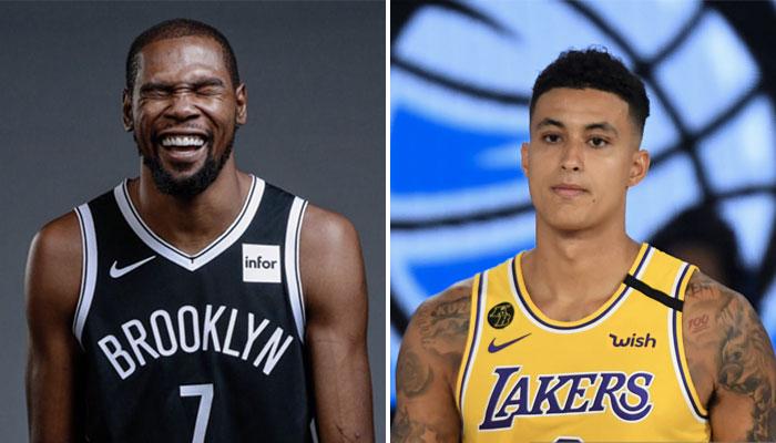 NBA - Kevin Durant envoie un tacle gratuit à Kyle Kuzma !