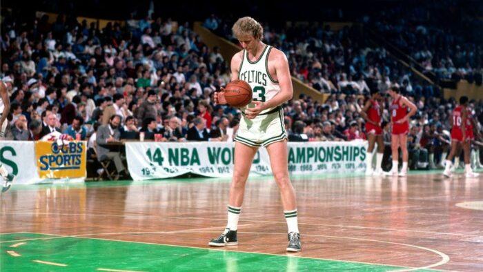 Larry Bird des Celtics