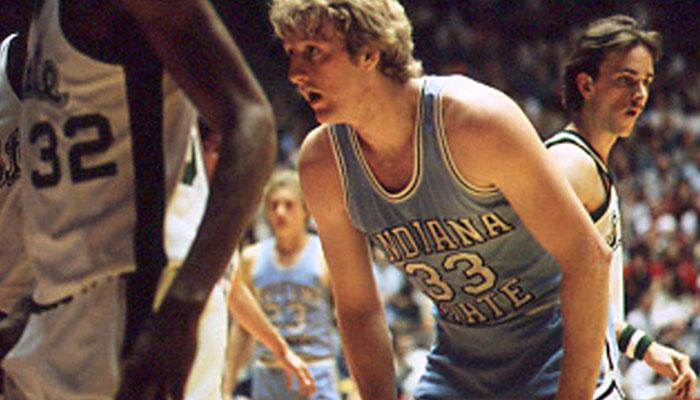 Larry Bird à l'université d'Indiana State