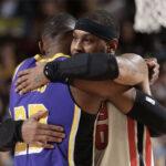 NBA – Quand LeBron a sauvé la vie d'un Melo à deux doigts de la mort