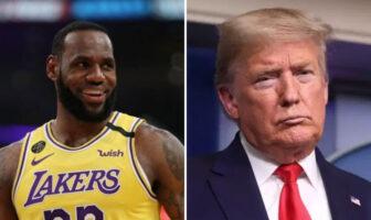 NBA - LeBron James répond parfaitement à Donald Trump-NBA