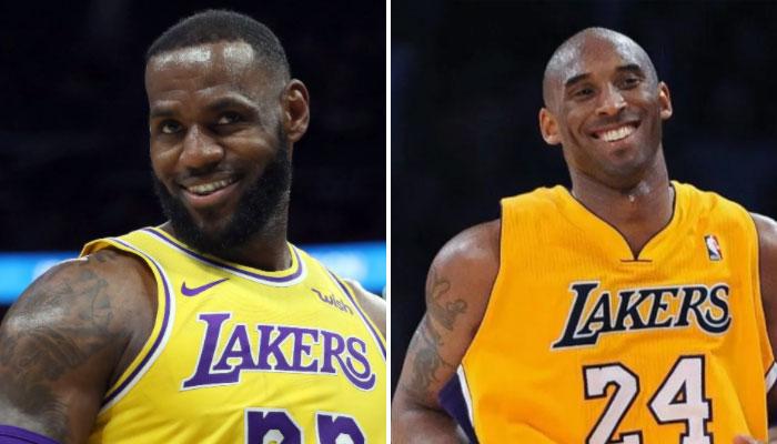LeBron dépasse Kobe dans l'histoire des Lakers NBA