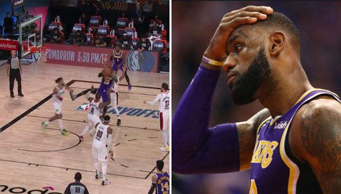 L'incroyable passe de LeBron James... gâchée par un coéquipier NBA