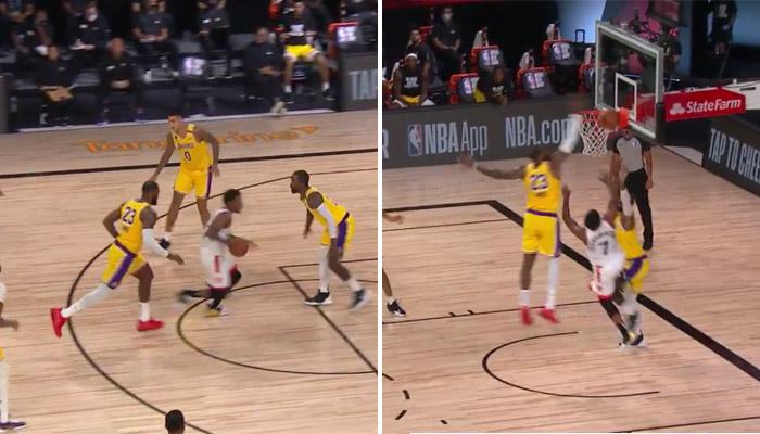 LeBron James contre Kyle Lowry avec sa spéciale-NBA
