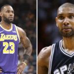 NBA – LeBron dépasse Tim Duncan dans l'histoire… et réagit à son exploit