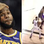 NBA – Déboussolé, LeBron se fait avoir comme un rookie sur une remise en jeu