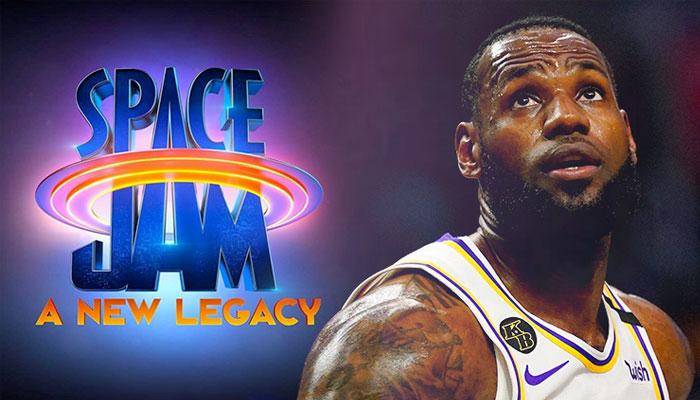 Premier aperçu des maillots avec LeBron dans Space Jam 2 ! NBA