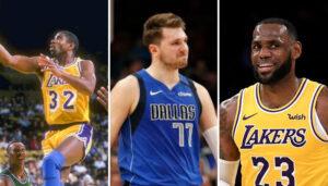 NBA – Luka Doncic rejoint LeBron et Magic dans l'histoire des playoffs !