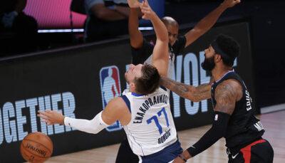 NBA – Luka Doncic et Marcus Morris sanctionnés par la ligue !