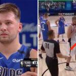 NBA – Marcus Morris provoque Luka Doncic sur la ligne des lancers !