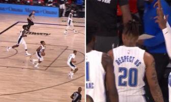 Markelle Fultz marque un panier fou de son propre camp-NBA