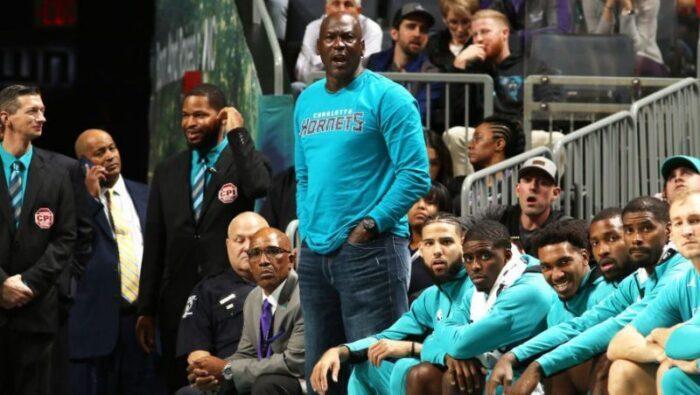 Michael Jordan des Hornets