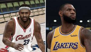 NBA – Quelle était la toute première note 2K des stars actuelles ?