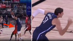 NBA – Boban ridiculise son défenseur après un gros fail de Luka
