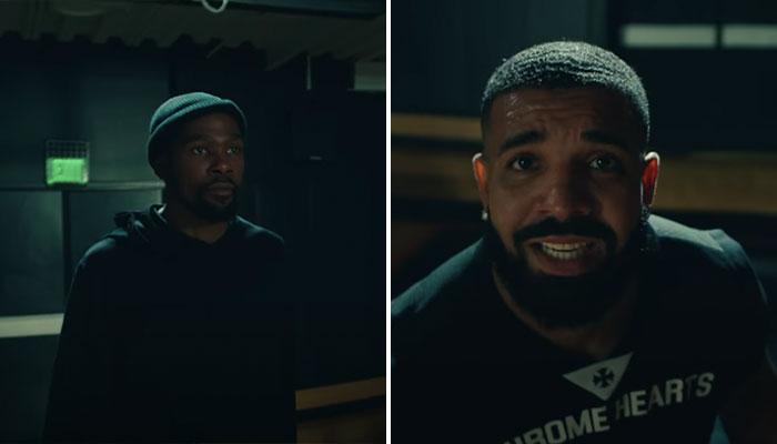 Drake kevin Durant nba clip