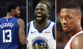 NBA Draymond Green Damian Lillard Paul George beef