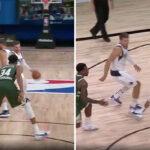 NBA – En plein money time, Luka Doncic sort une passe insolente devant Giannis !
