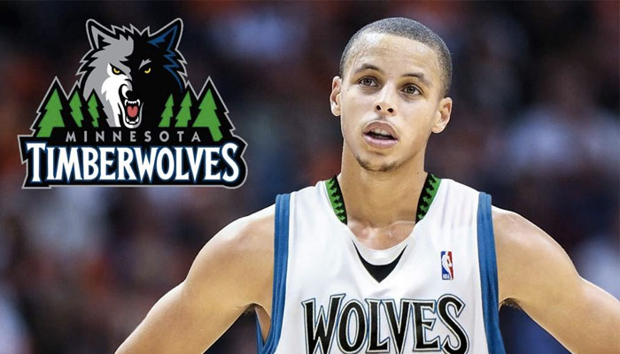 NBA Stephen Curry Minnesota Timberwolves draft