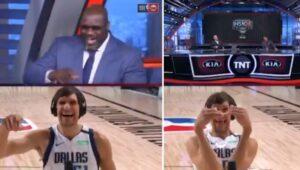 NBA – Shaq en plein délire avec Boban après lui avoir donné un nouveau surnom