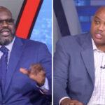 NBA – Shaq et Barkley se chauffent en direct, Chuck lâche une violente punchline !