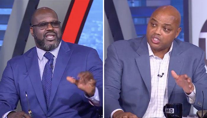NBA - Shaq et Barkley se chauffent en direct, Chuck lâche une violente punchline !