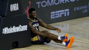 NBA – Zion casse le cercle sur un dunk, match interrompu !