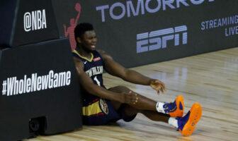 Le coup de gueule de Zion contre ses coéquipiers NBA
