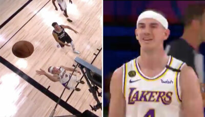 NBA – L'incroyable fail d'Alex Caruso contre les Nuggets