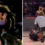 NBA – Dans le chaos après son buzzer, Davis dégomme un coéquipier façon Triple H
